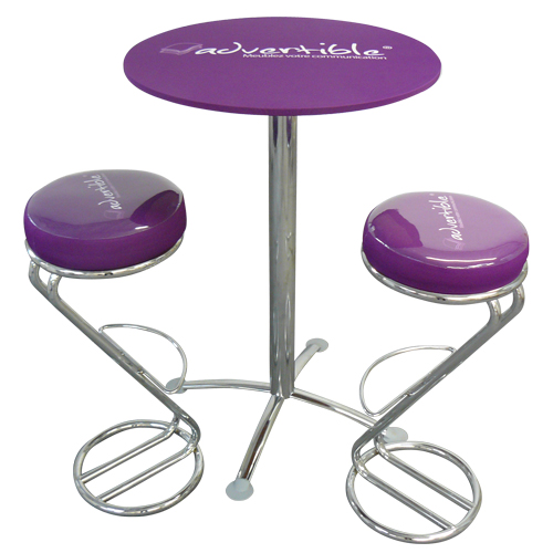 Table mange debout pour magasins d coration for Table et tabouret bar